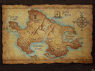 Map to Neverland